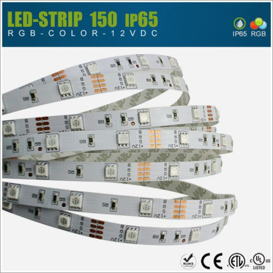 LED Streifen 12V SMD5050 30 LED/m - IP65 RGB