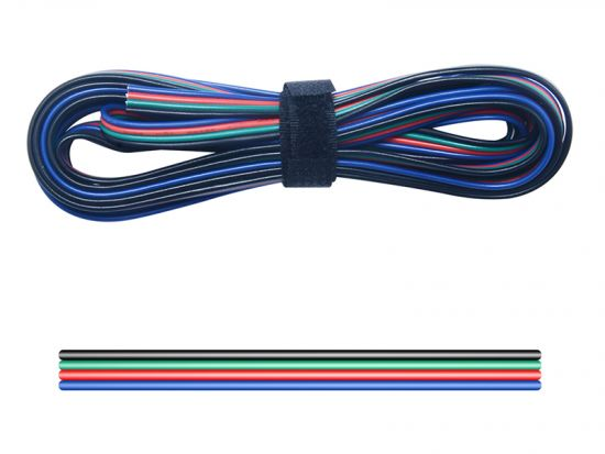 LED RGB Kabel 4-Pol AWG22 (Meterware)