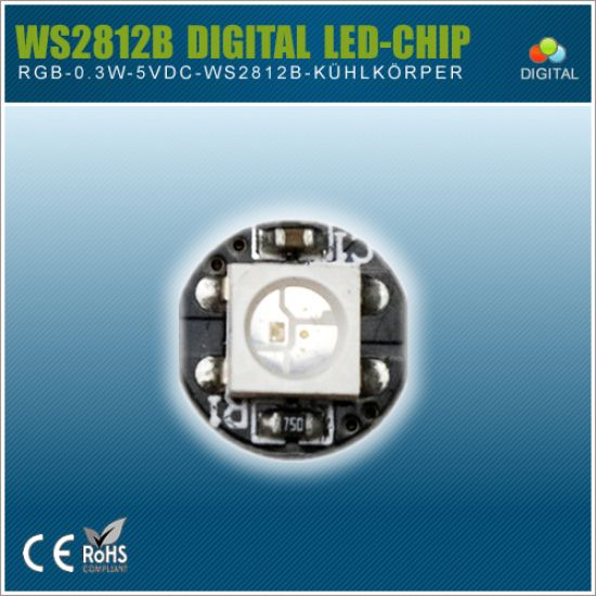 WS2812B Digital RGB LED-Chip - 5VDC