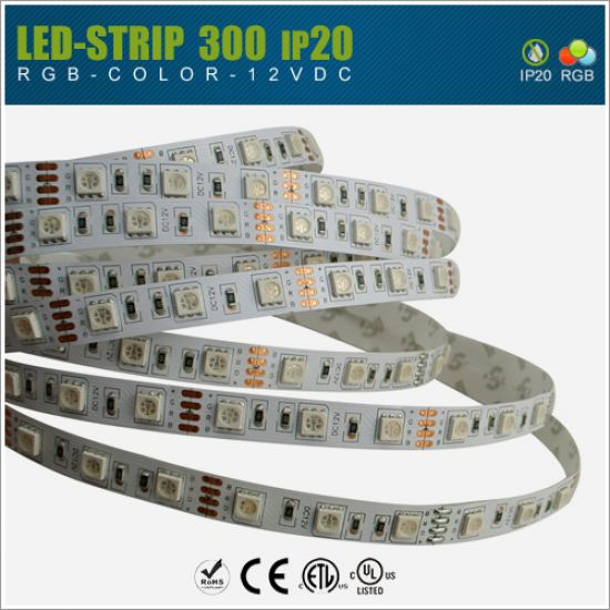 LED Streifen 12V SMD5050 60 LED/m - IP20 RGB