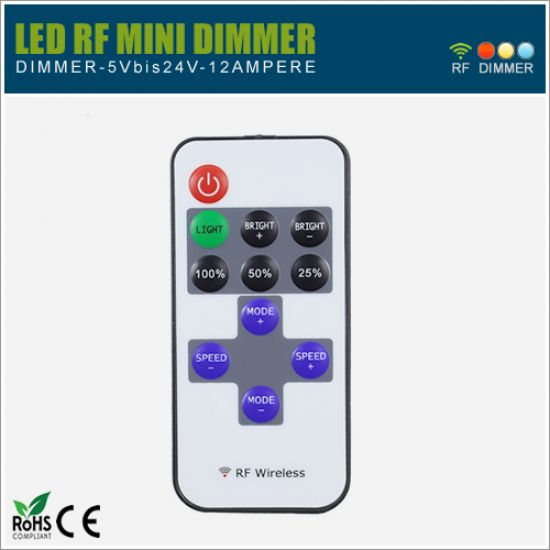 LED Dimmer Slim RF 5-24V - inkl. FB