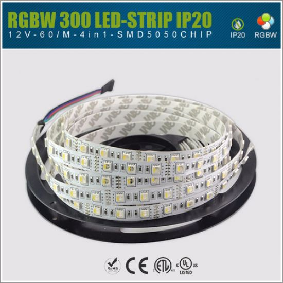 LED Streifen 12V SMD5050 60 LED/m - IP20 4in1 RGBW